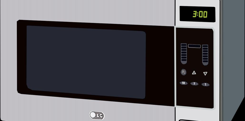 Mikrowelle Edelstahl