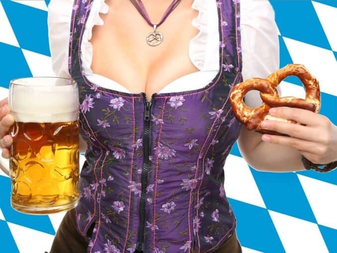 Oktoberfest München im Wiesnoutfit