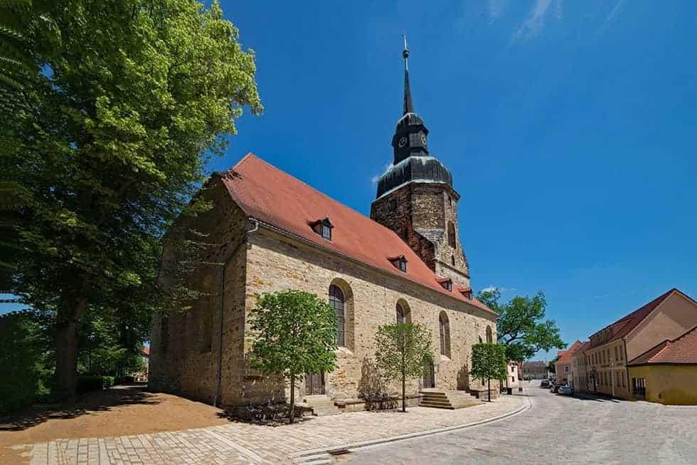 Evangelische Kirche Bad Lauchstädt
