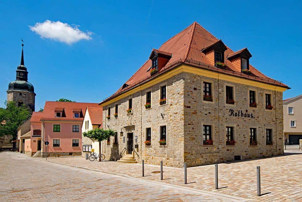 Rathaus von Bad Lauchstädt