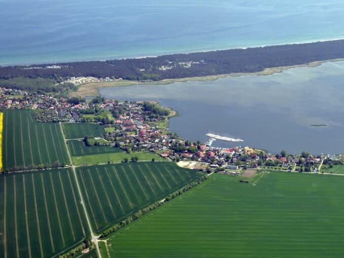 Luftbild Breege Bild: Klugschnacker CC BY-SA 3.0