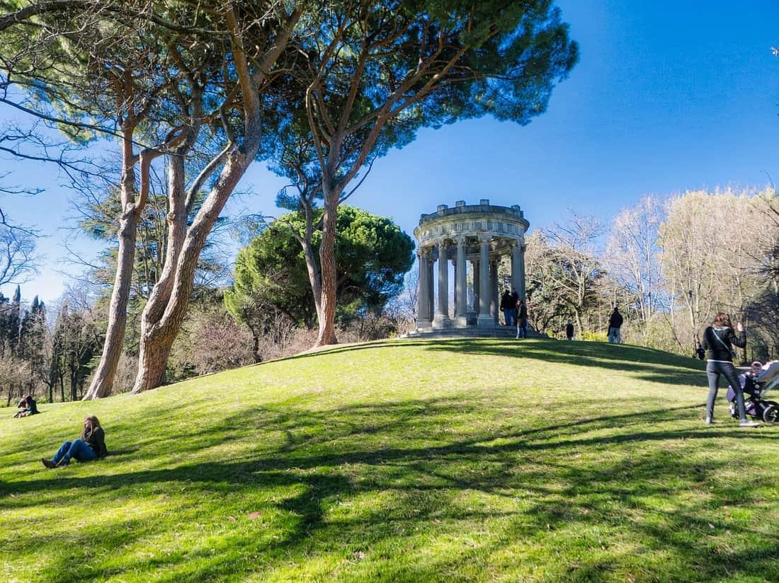 Madrid Spanien Park